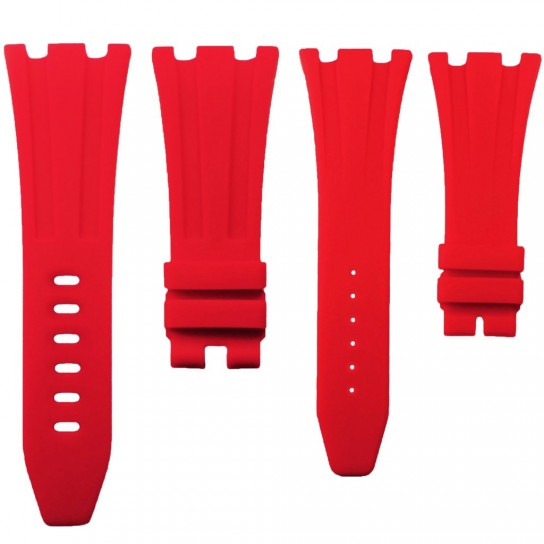 Red Rubber Audemars Piguet 42mm Strap