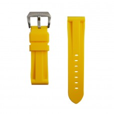 Yellow Rubber Breitling Strap