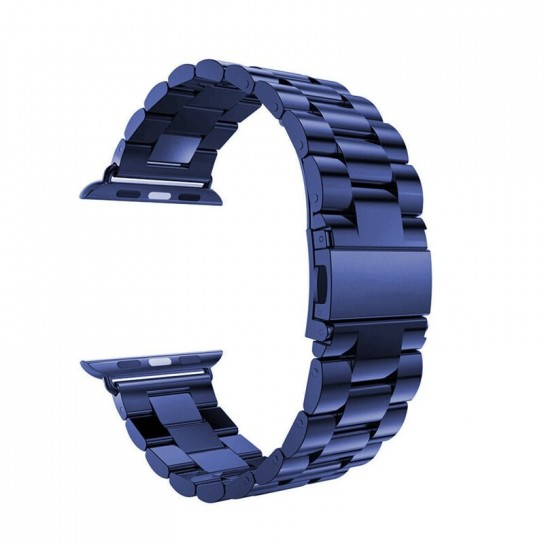 Blue EIMO Stainless Steel Band For apple watch band Strap