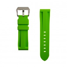 Green Rubber Breitling Strap
