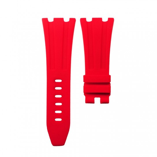 Red Rubber Audemars Piguet 42mm Diver Strap