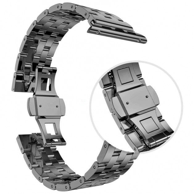 silver Stainless Steel bands for Apple Watch Series 4