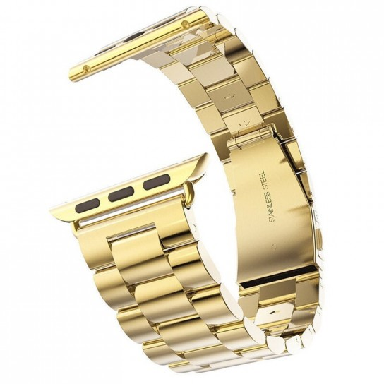 Gold EIMO Stainless Steel Band For apple watch band Strap