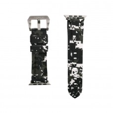 Snow Digital Camouflage Apple Watch Strap