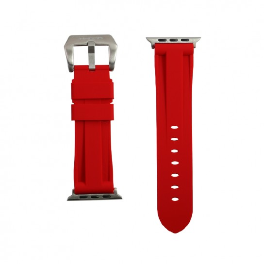 Red Apple Watch Strap
