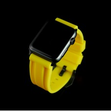 Yellow Apple Watch Strap