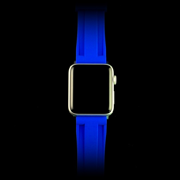 Blue Apple Watch Strap