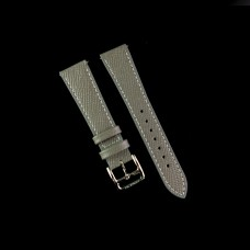 Grained Calf Grey Watch Strap