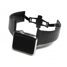 Black Link Bracelet for Apple watch band