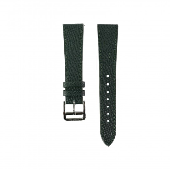 Grained Calf Green Watch Strap
