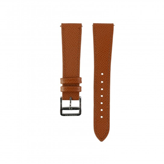 Grained Calf Tan Watch Strap