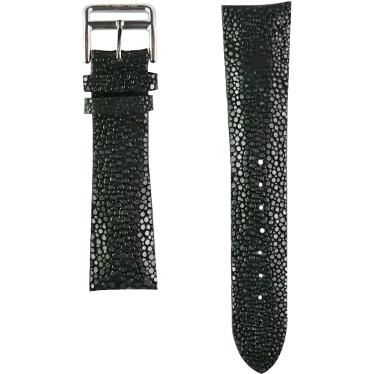 Black Genuine Stingray Strap