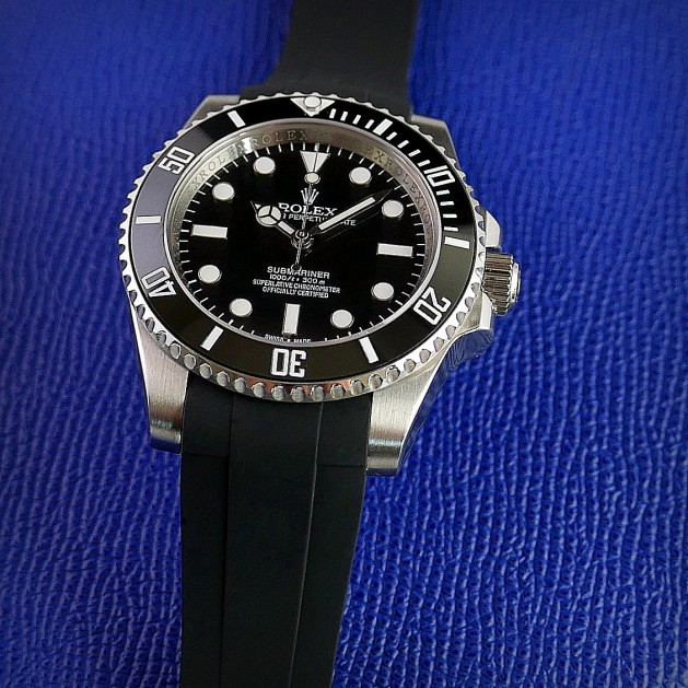 Black Krono Straps for Rolex Submariner