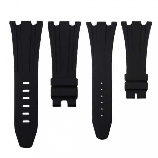 Black Rubber Audemars Piguet 42mm Strap
