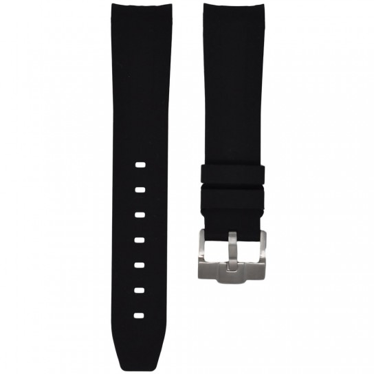 Black Krono Straps for Rolex Explorer  with buckle