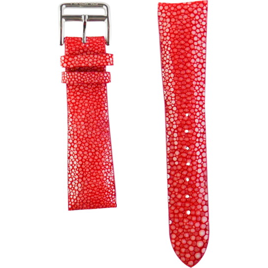 Red Genuine Stingray Strap