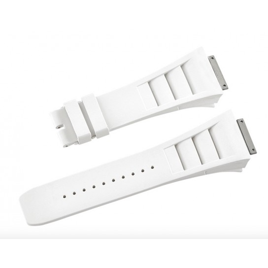 Richard Mille RM011 Strap in White