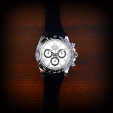 Black Krono Straps for Rolex Daytona