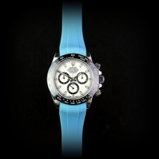 Azure Blue Krono Straps for Rolex Daytona