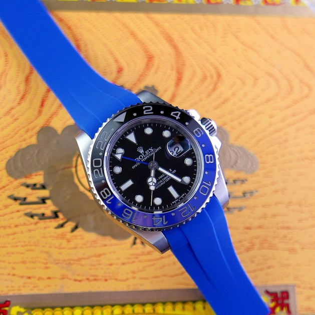 Blue Krono Straps for Rolex GMT