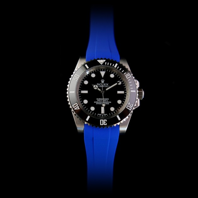 Blue Krono Straps for Rolex Submariner