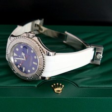 White Krono Straps for Rolex Yachtmaster