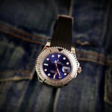 Black Krono Straps for Rolex Yachtmaster