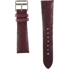Burgundy Genuine Stingray Strap