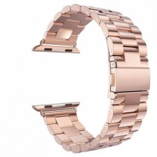 Rose gold EIMO Stainless Steel Band For apple watch band Strap